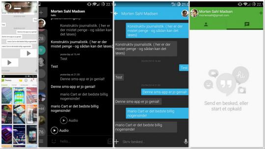 Fem Gratis Og Gode Sms Apps Til Android Computerworld