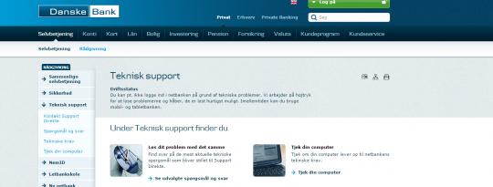 Danske Bank: Det er korrekt vi har problemer med netbanken - Computerworld