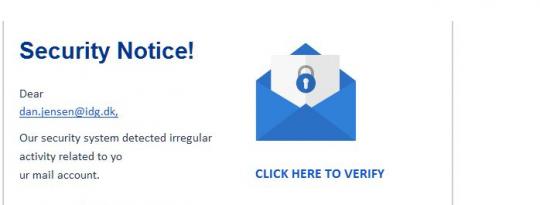 d19f76e2 Warning! Vi lukker din mail nu - hvis ikke du klikker her ...