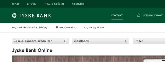 jyske bank netbank