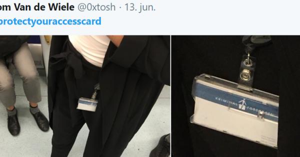 """Hackeren Tom tager billeder af synlige adgangskort i København: """"Mange tror bare, at det er ..."""