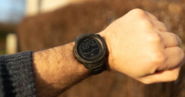 Dette smartwatch er som skabt til at...