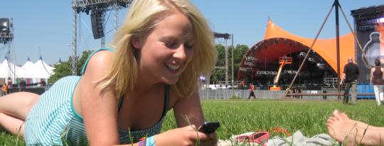 Roskilde Festival Er Verdens Bedste Mobil Legeplads Computerworld