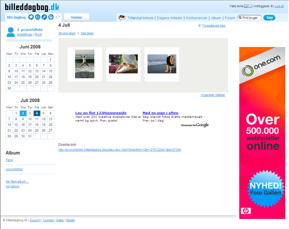 Test: Fem gratis online-fotoalbum (Side 5) - Computerworld