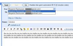 opret hotmail adresse