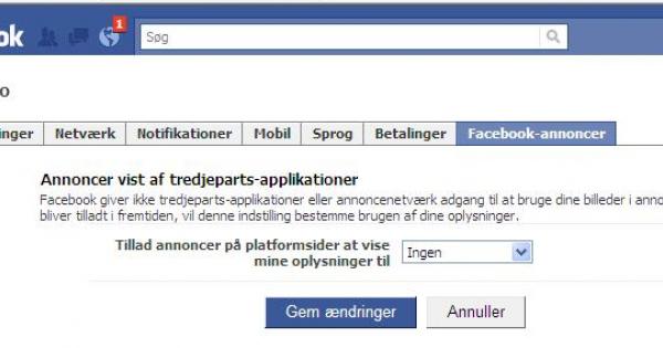 hvordan sletter jeg min facebook konto
