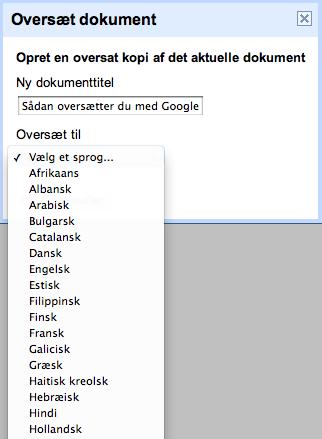oversæt dansk arabisk