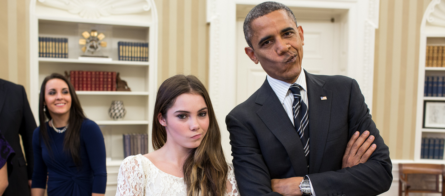 McKayla Maroney Obama